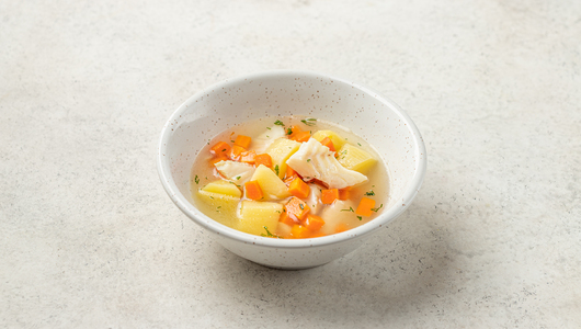 Суп рыбный с треской с бесплатной доставкой на дом из «ВкусВилл» | Москва и область